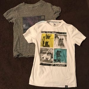 Other - Bundle of 2 Boys tee shirts.